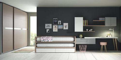 cameretta grigia / in legno / unisex