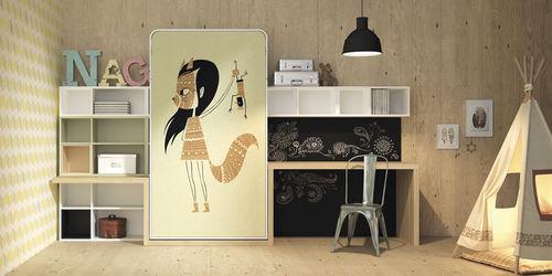 scrivania in legno / moderna / per bambini / con ripiano