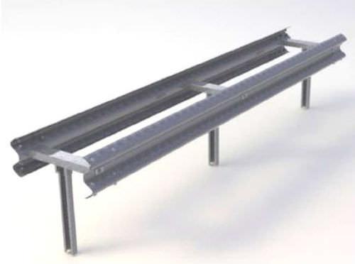 guard-rail in acciaio