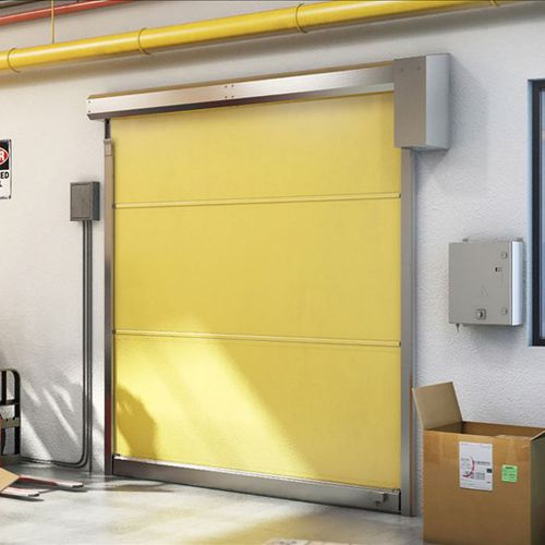 porta industriale avvolgibile