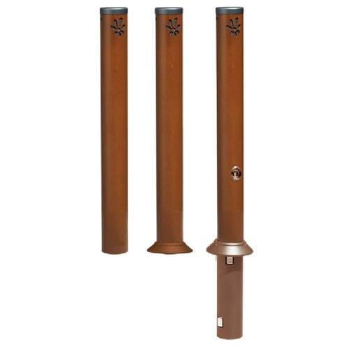 colonna di protezione / in acciaio / fissa / amovibile