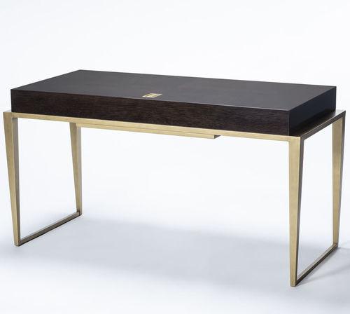 scrivania in legno / in metallo / moderna
