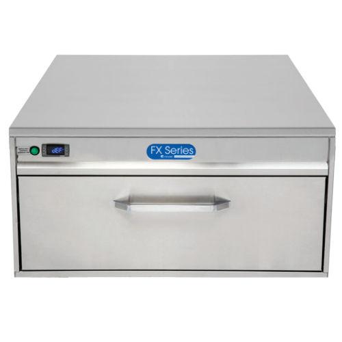 frigorifero combinato con congelatore incorporato / a cassetti / in acciaio inox / da incasso