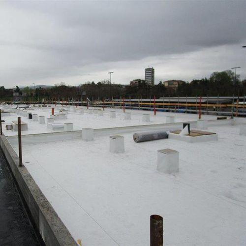 membrana impermeabilizzante per tetti / in rotoli / con barriera al vapore / sintetica