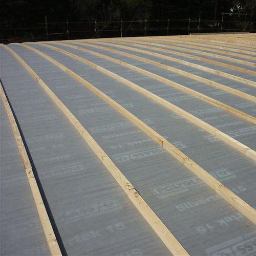 barriera al vapore bituminosa / in polipropilene / in poliestere / per tetto ventilato