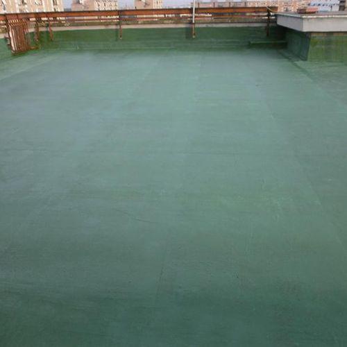 guaina liquida impermeabilizzante per terrazza / per tetti / in elastomero / in acrilico