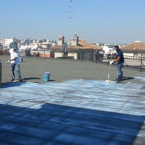pittura di protezione / resistente a carichi elevati / per calcestruzzo / per esterni