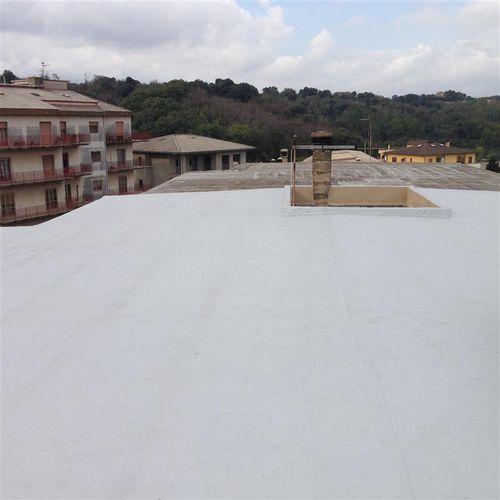 pittura di protezione / per tetti / per metallo / per calcestruzzo