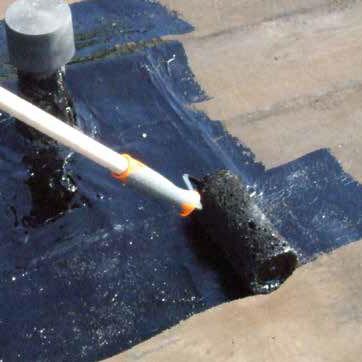 guaina bituminosa impermeabilizzante per terrazza / in elastomero