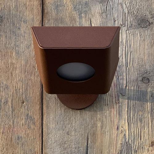 applique design / da giardino / per terrazza / in acciaio