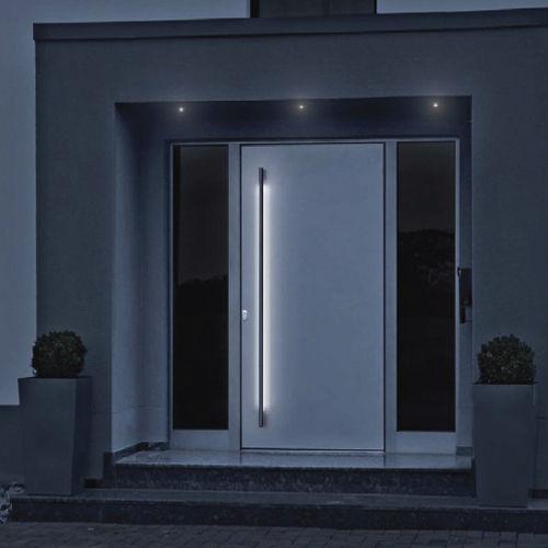 porta d'ingresso / battente / in legno / in alluminio