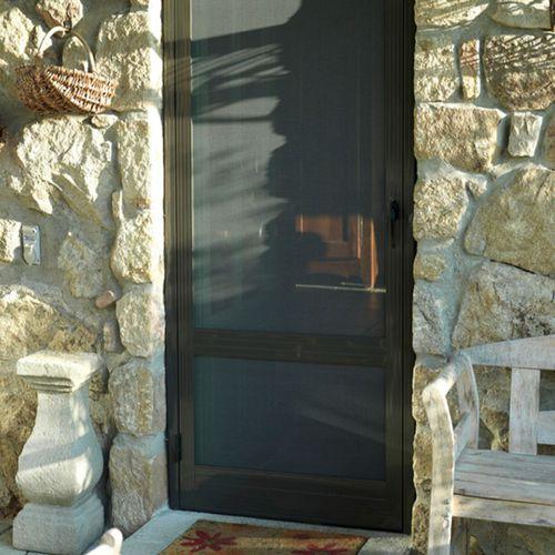 zanzariera battente / per porta