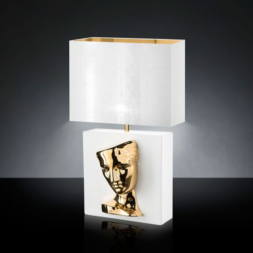 lampada da tavolo / moderna / in ceramica / fatta a mano