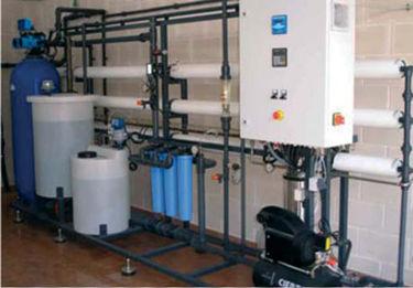 unità ad osmosi inversa per uso industriale