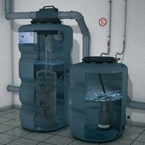 micro impianto di depurazione per acqua / compatto / con filtro
