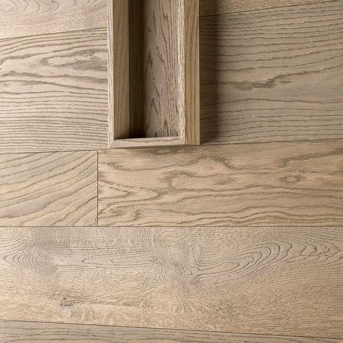 pannello decorativo di rivestimento / in legno / da parete / spazzolato