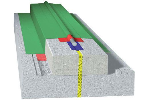 giunto di dilatazione in PVC