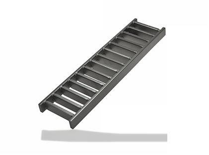 griglia per canaletta in acciaio inox / su misura