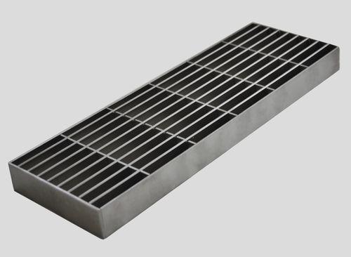 griglia per canaletta in acciaio inox / per doccia / per piscina