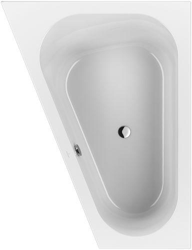 vasca da bagno d'angolo / in acrilico