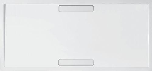 piatto doccia rettangolare / in acrilico / su misura