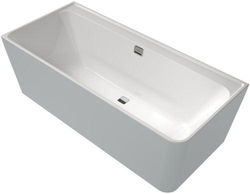 vasca da bagno ad isola / d'angolo / in acrilico / doppia