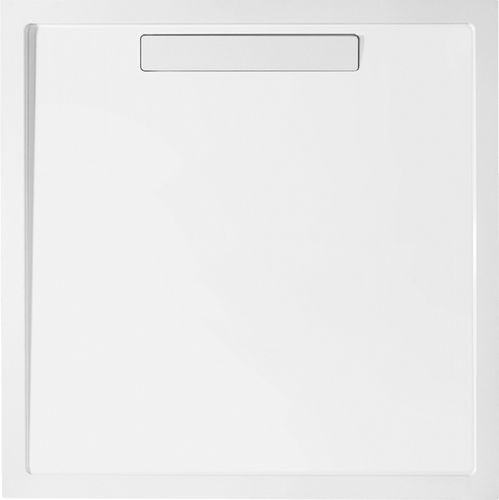 piatto doccia quadrato / da incasso / in composito / ultrapiatto