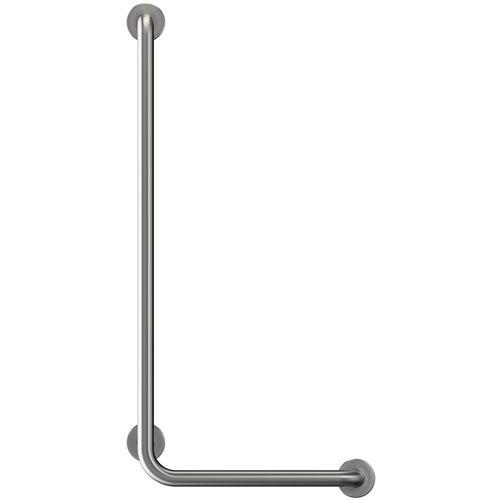 barra di sostegno in acciaio inox / a forma di L / da parete / contract