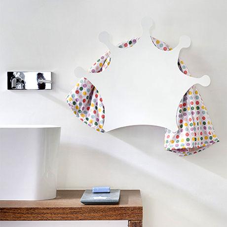 scaldasalviette elettrico / in alluminio / moderno / da parete