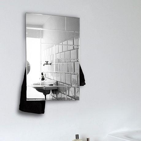 scaldasalviette elettrico / in alluminio / in vetro / design