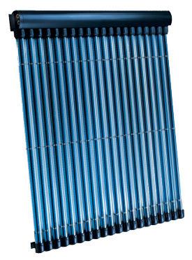 collettore solare termico a tubi sottovuoto