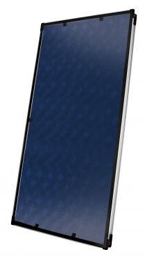 collettore solare termico piano / per riscaldamento / per scaldare l'acqua / modulare