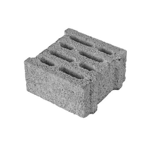 blocco di calcestruzzo forato / leggero / per muro / ad alta resistenza