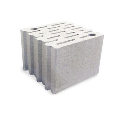 blocco di calcestruzzo forato / leggero / per muro portante / acustico