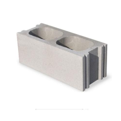 blocco di calcestruzzo forato / leggero / per muro / tagliafuoco