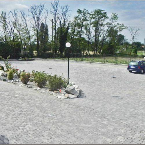 pavimentazione in calcestruzzo / carrabile / anticata / da esterno