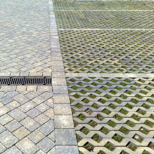 pavimentazione in calcestruzzo / carrabile / drenante / da esterno