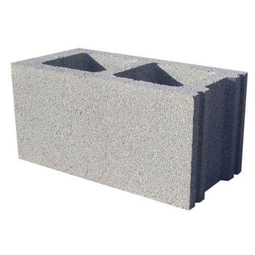 blocco di calcestruzzo forato / leggero / per muro / ad alte prestazioni
