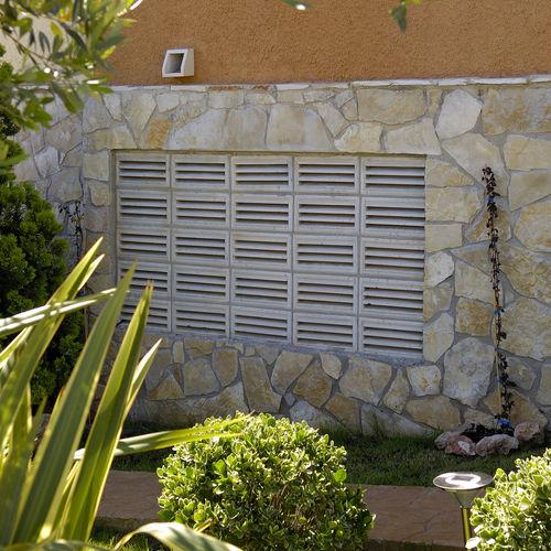griglia di ventilazione in calcestruzzo