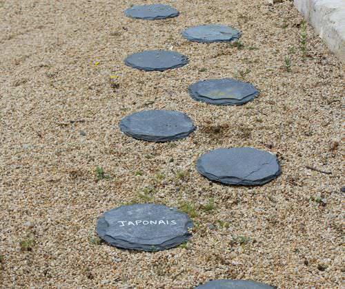 percorso di pietre