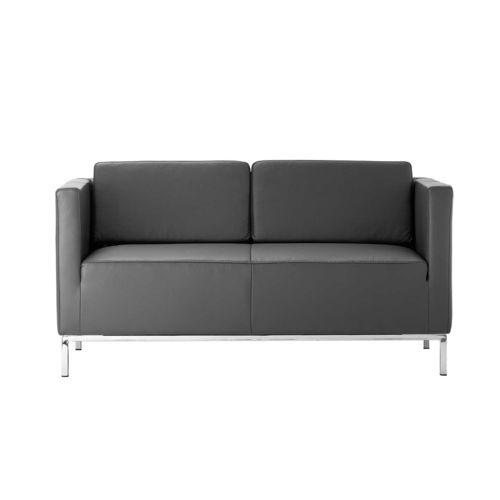 divano moderno / in pelle / in tessuto / contract