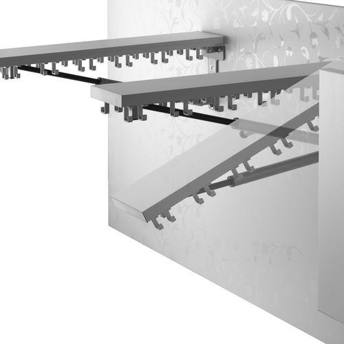 appendiabiti a muro / moderno / in metallo