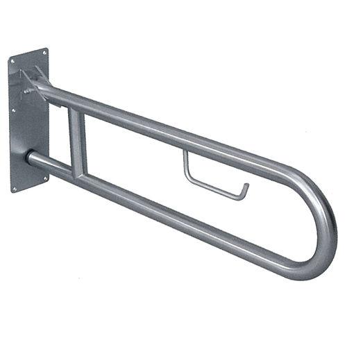 barra di sostegno in acciaio inox / dritta / da parete / contract
