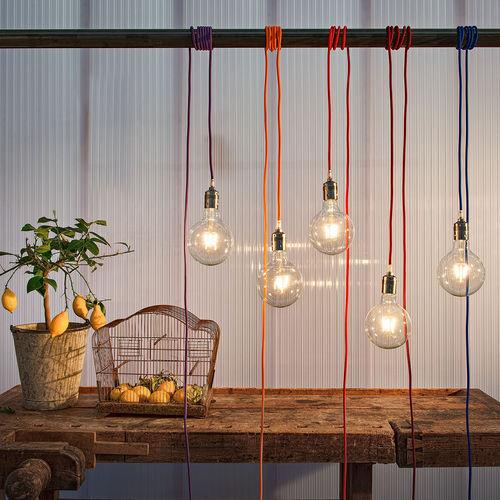 lampada a sospensione / moderna / in vetro / LED