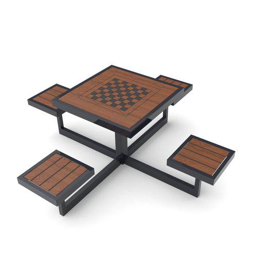 tavolo da scacchi classico