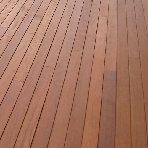 listello per esterni in legno di latifoglie