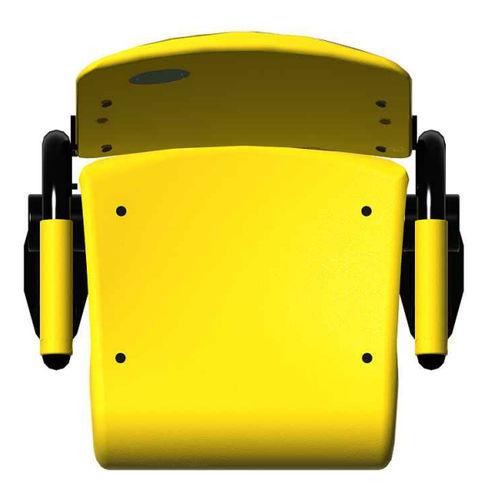 poltrona per auditorium moderna / in plastica / con braccioli / per stadio