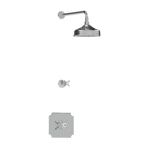 set doccia da incasso a muro / classico / termostatico
