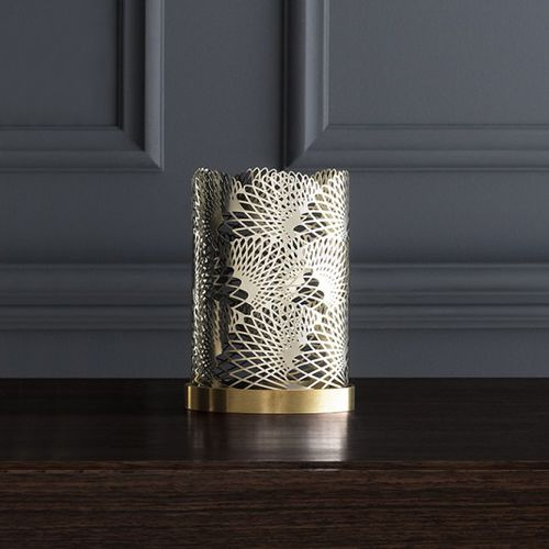 portacandela in ottone / in argento