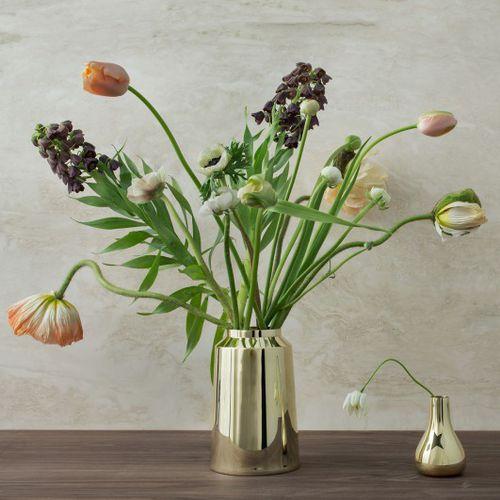 vaso moderno / in ottone